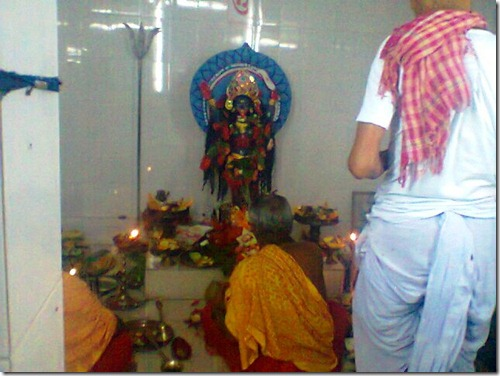 40 idol of goddess Kali