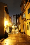 Evening in Taipa Village, Macau