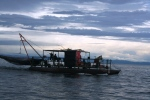 Trawling in Lake Kariba, Zambia