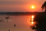 Sunset at South Luangwa National Park, Zambia