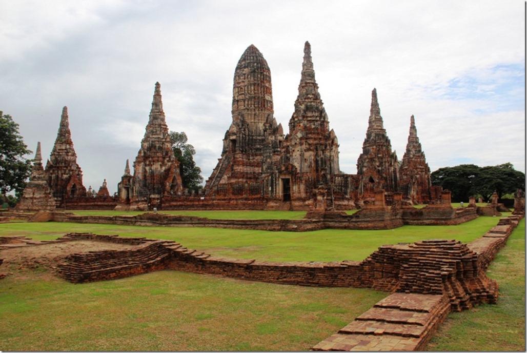 2012_08_11 Thailand Ayutthaya Wat Chaiwatthanaram (3)