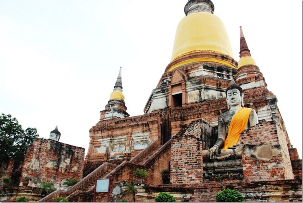 Wat Yai Chai Mongkhon in Ayutthaya, Thailand  World Adventurers