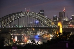 Sydney, Australia at night
