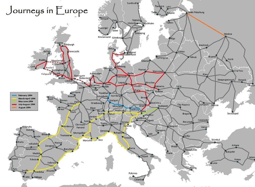 Eurasia The Travel Memoir