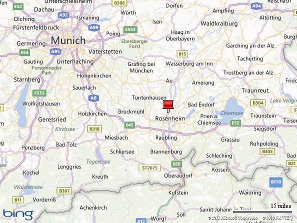Eurasia: Rosenheim, Germany (4/5)