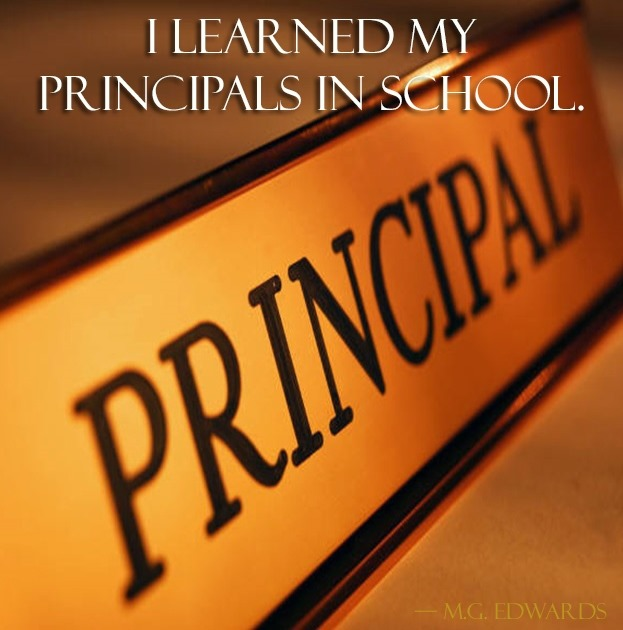 Fury in the story of my point to principal own
